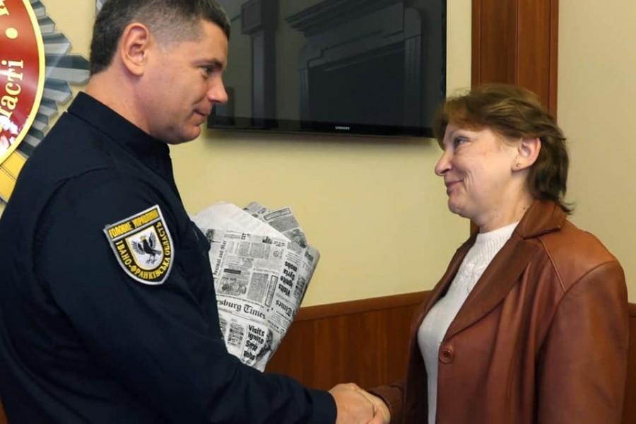 Нагородили мешканку Калуша та поліцейських, які врятували охоронця від ротвейлера 2