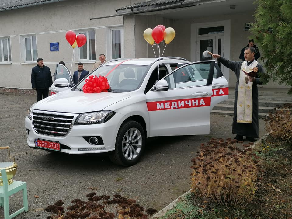 Амбулаторія Старого Лисця отримала нове авто 1