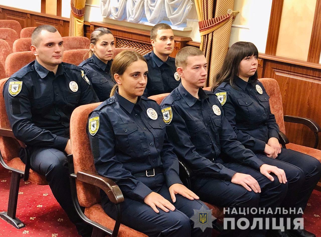 13 поліцейських Прикарпаття присягнули на вірність українському народові 2