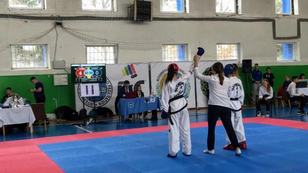 Поліцейська з Франківська перемогла на Кубку з таеквондо 2