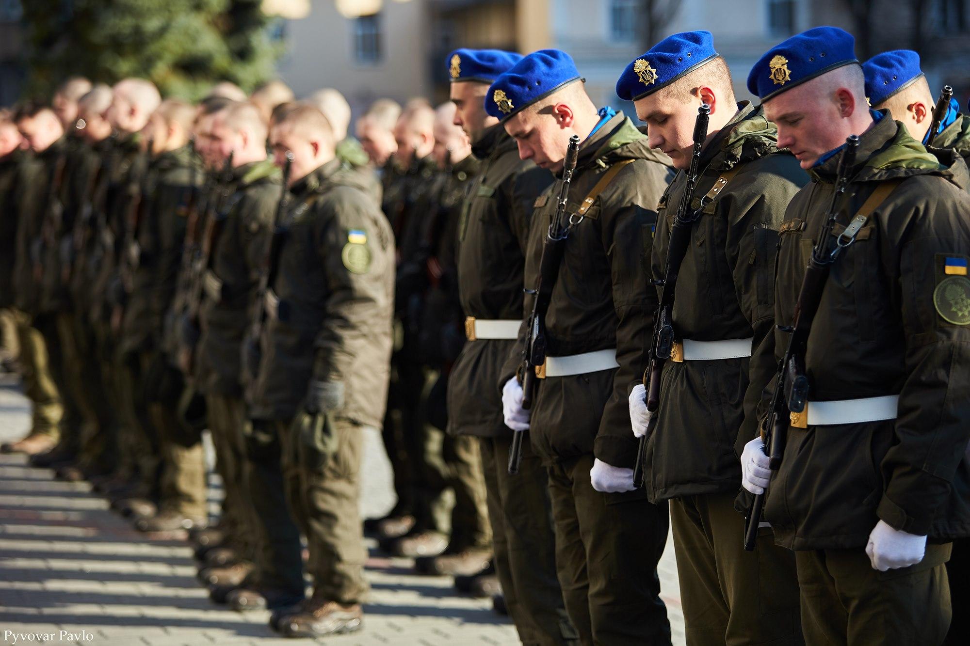 У Франківську 66 нацгвардійців присягнули на вірність українському народу 8