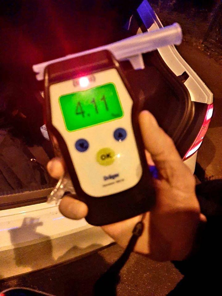 На Франківщині поліція затримала вісьмох п'яних водіїв за ніч 4
