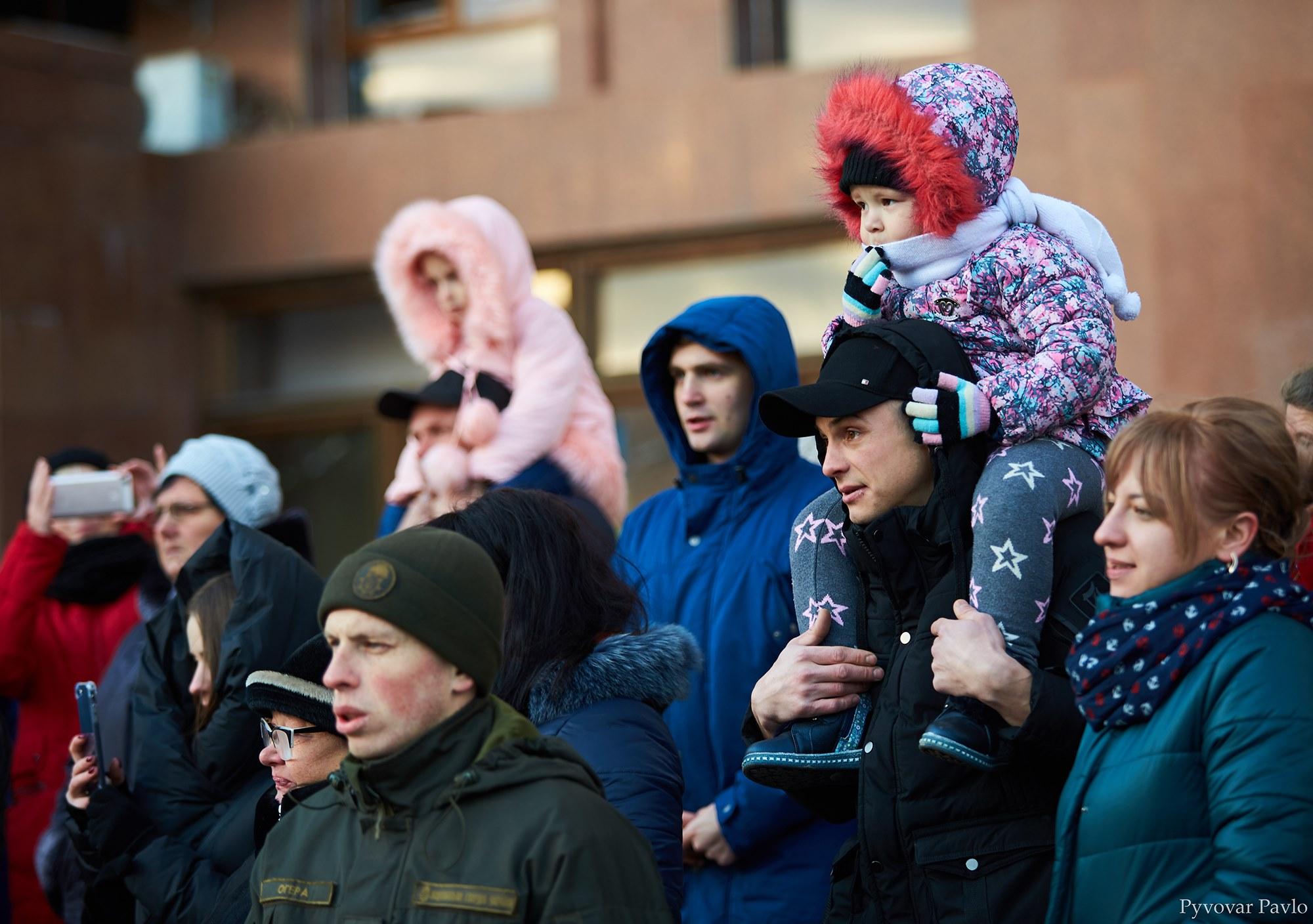 У Франківську 66 нацгвардійців присягнули на вірність українському народу 12