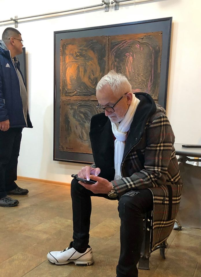 У Бастіоні відкрили кайрос-виставку Миколи Джички 12