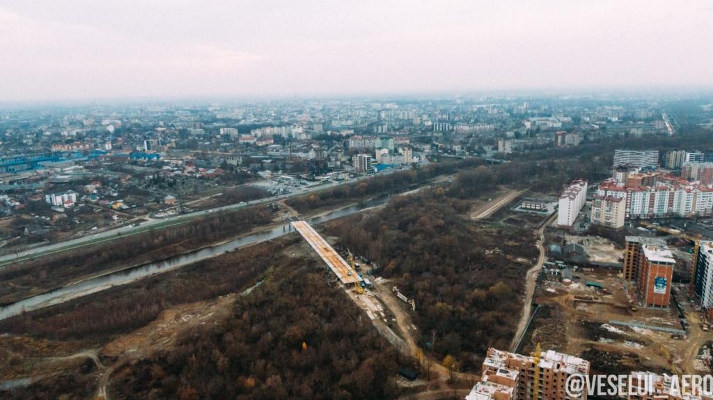 будівництво моста в Івано-Франківську
