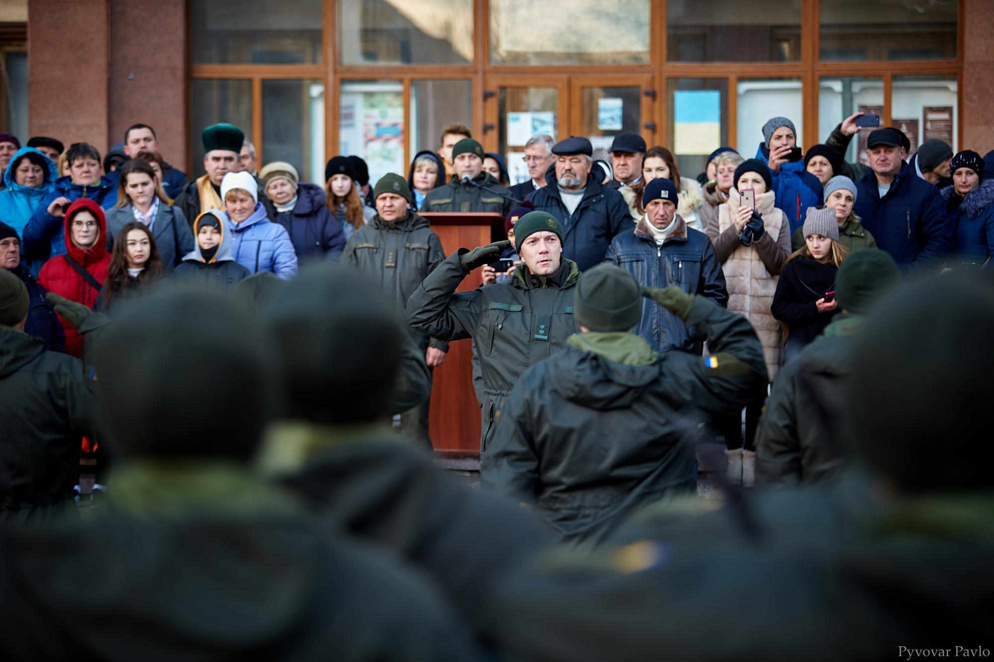 У Франківську 66 нацгвардійців присягнули на вірність українському народу 16