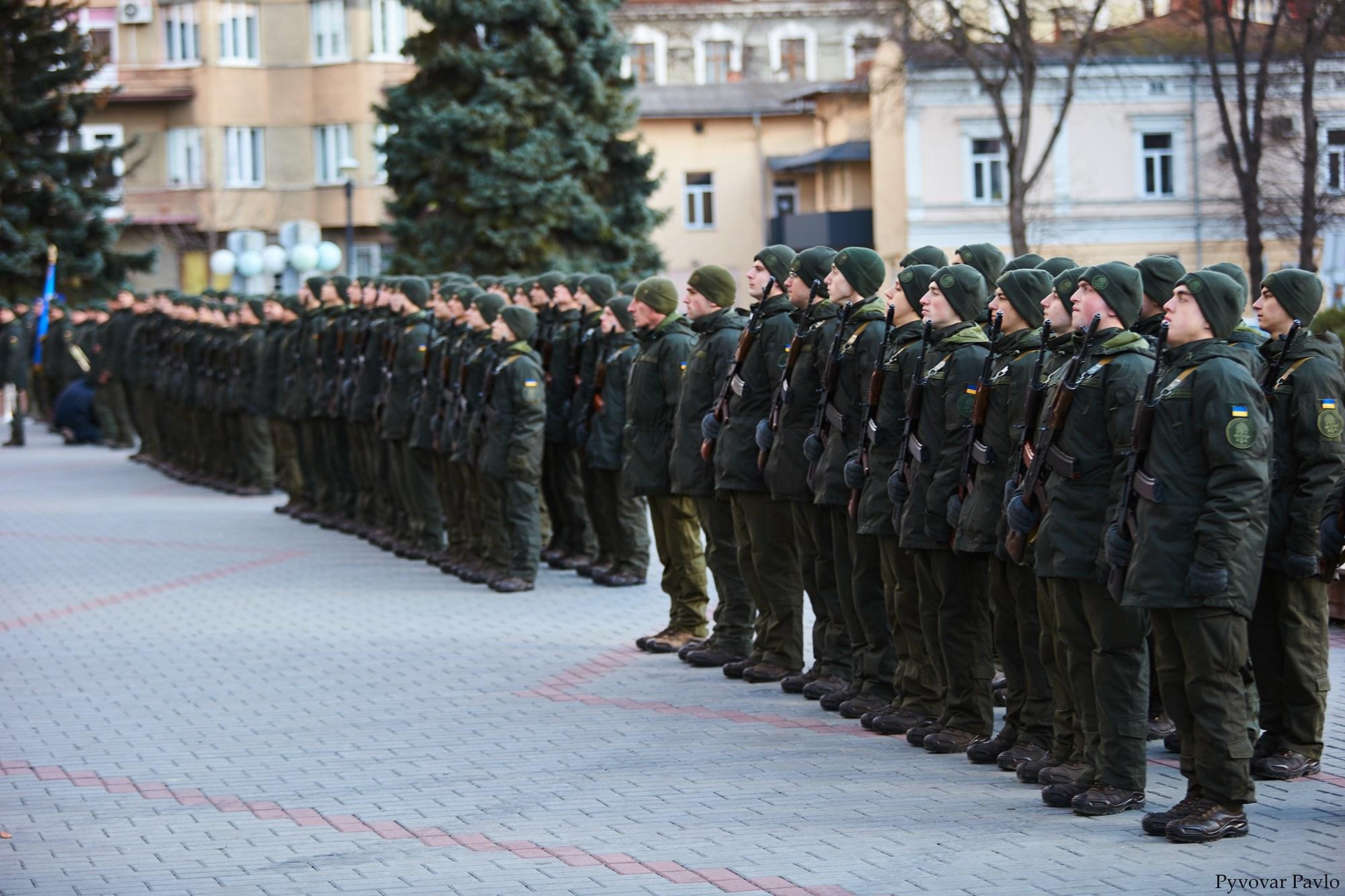 У Франківську 66 нацгвардійців присягнули на вірність українському народу 20