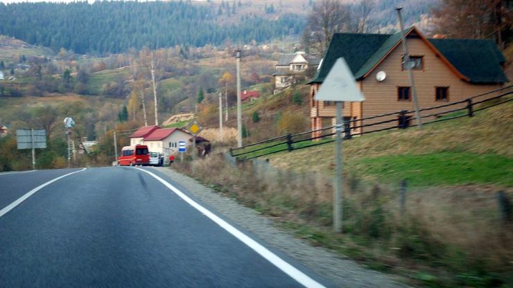 Дороги в Івано-Франківській області
