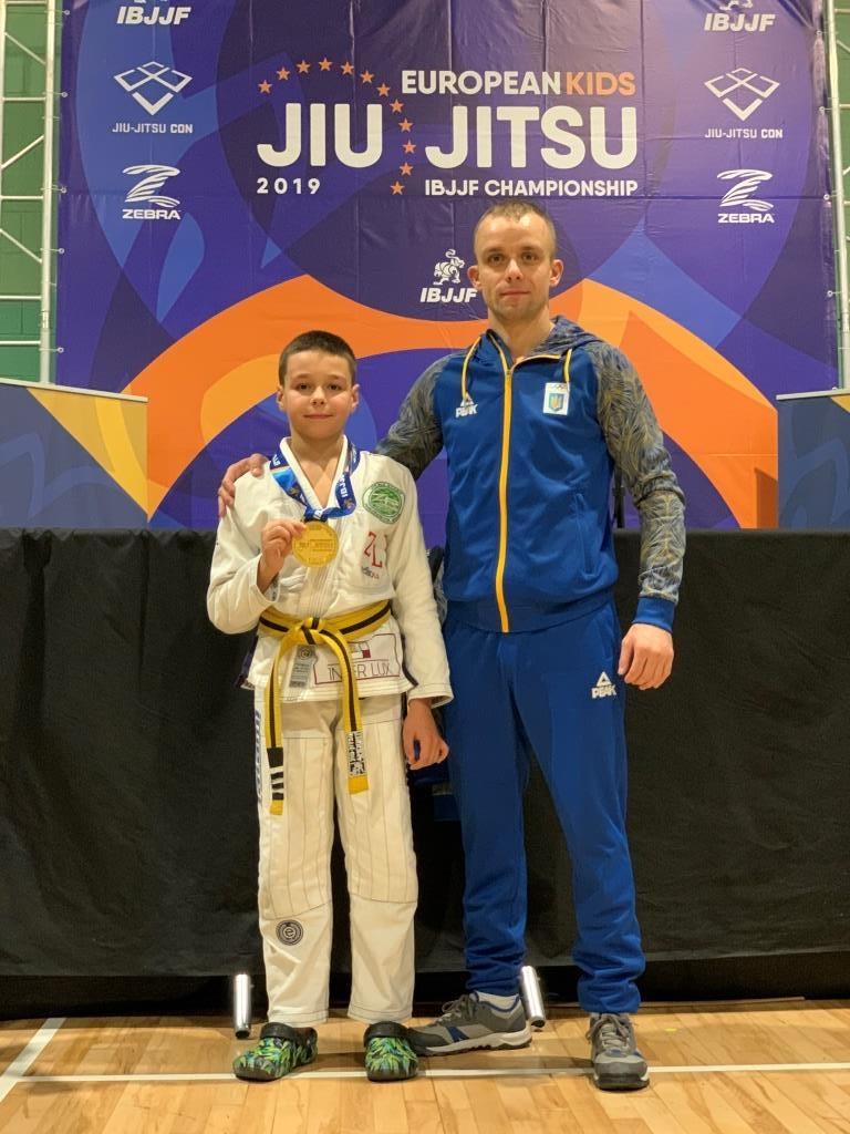 Два франківські школярі стали чемпіонами Європи з джиу-джитсу 2