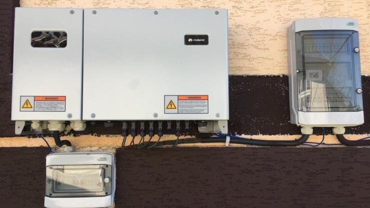 Сонячну електростанцію для дому потужністю 30 кВт встановлено в Ланчині 4