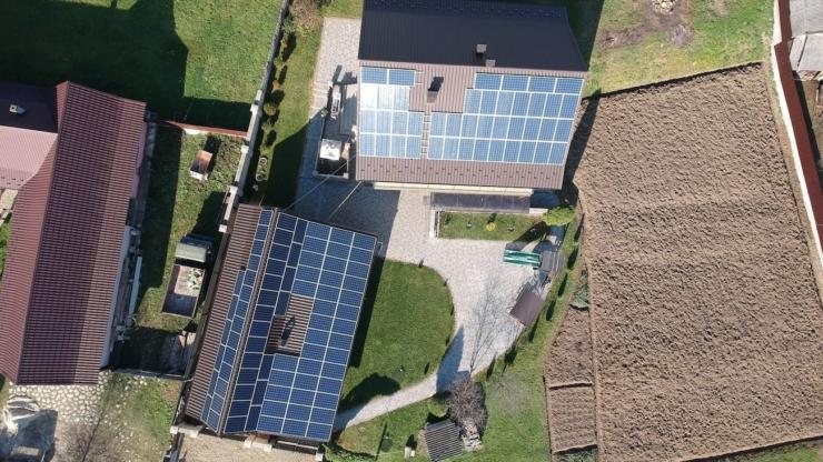 Сонячну електростанцію для дому потужністю 30 кВт встановлено в Ланчині 2