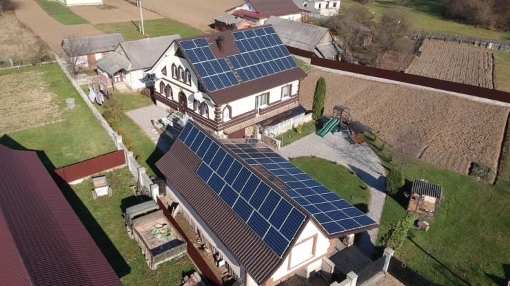 сонячна електростанція в Ланчині