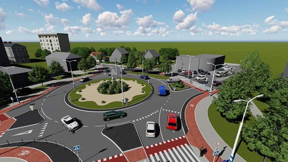 Смушак показав проєкт реконструкції перехрестя Довга – Берегова – Північний бульвар 8