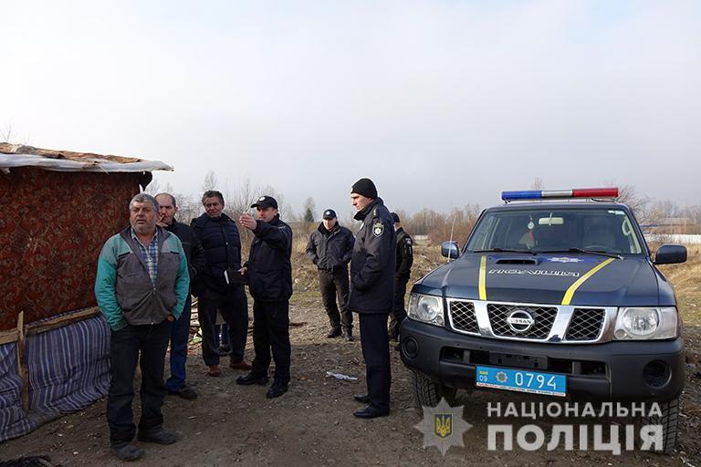 На Франківщині поліцейські провели профілактичні бесіди з ромами 1