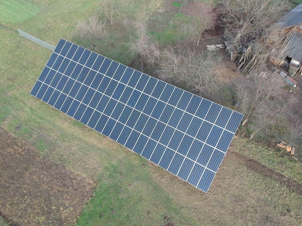 Сонячну електростанцію для дому потужністю 30 кВт змонтовано в Підмихайлі 2