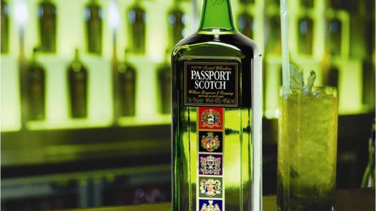 Віскі паспорт скотч ленд