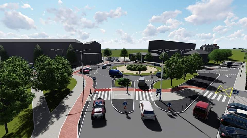 Смушак показав проєкт реконструкції перехрестя Довга – Берегова – Північний бульвар 2