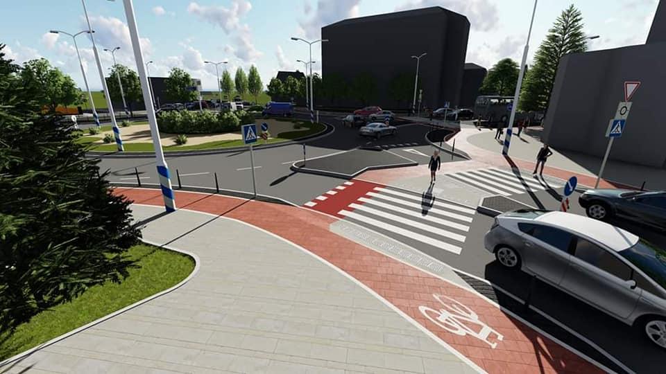 Смушак показав проєкт реконструкції перехрестя Довга – Берегова – Північний бульвар 4
