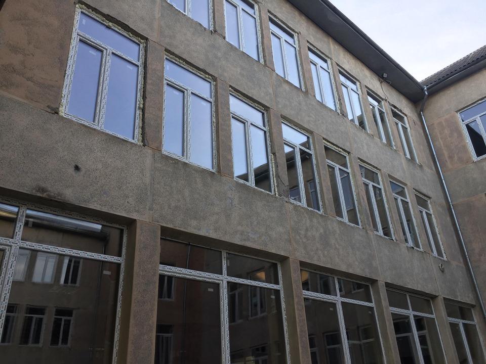 В одній з франківських гімназій замінили вікна й систему вентиляції за програмою НЕФКО 4
