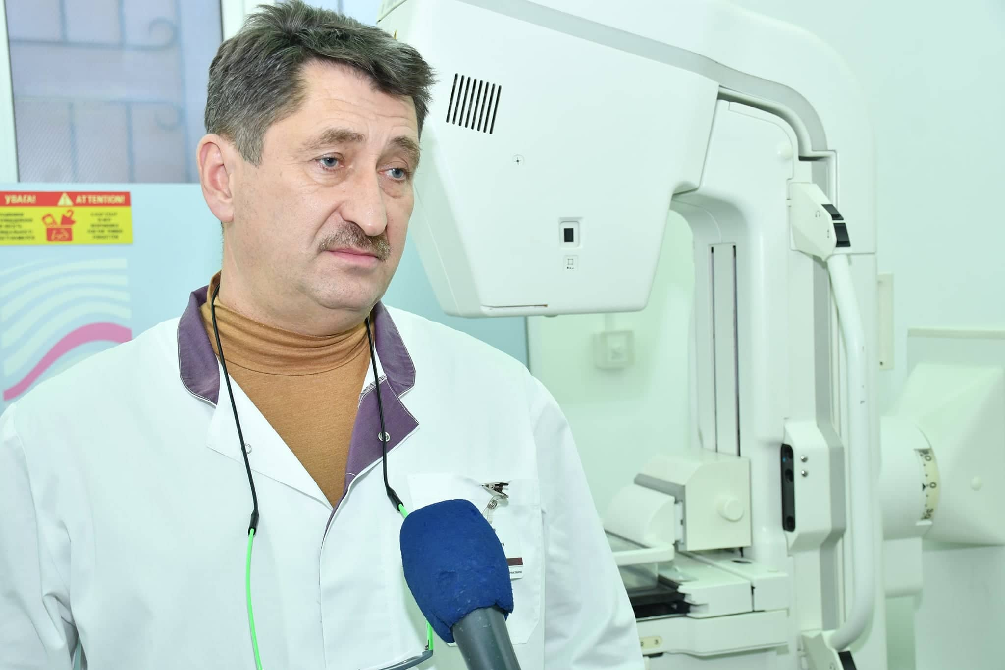 У франківській ЦМКЛ відкрили мамограф 2