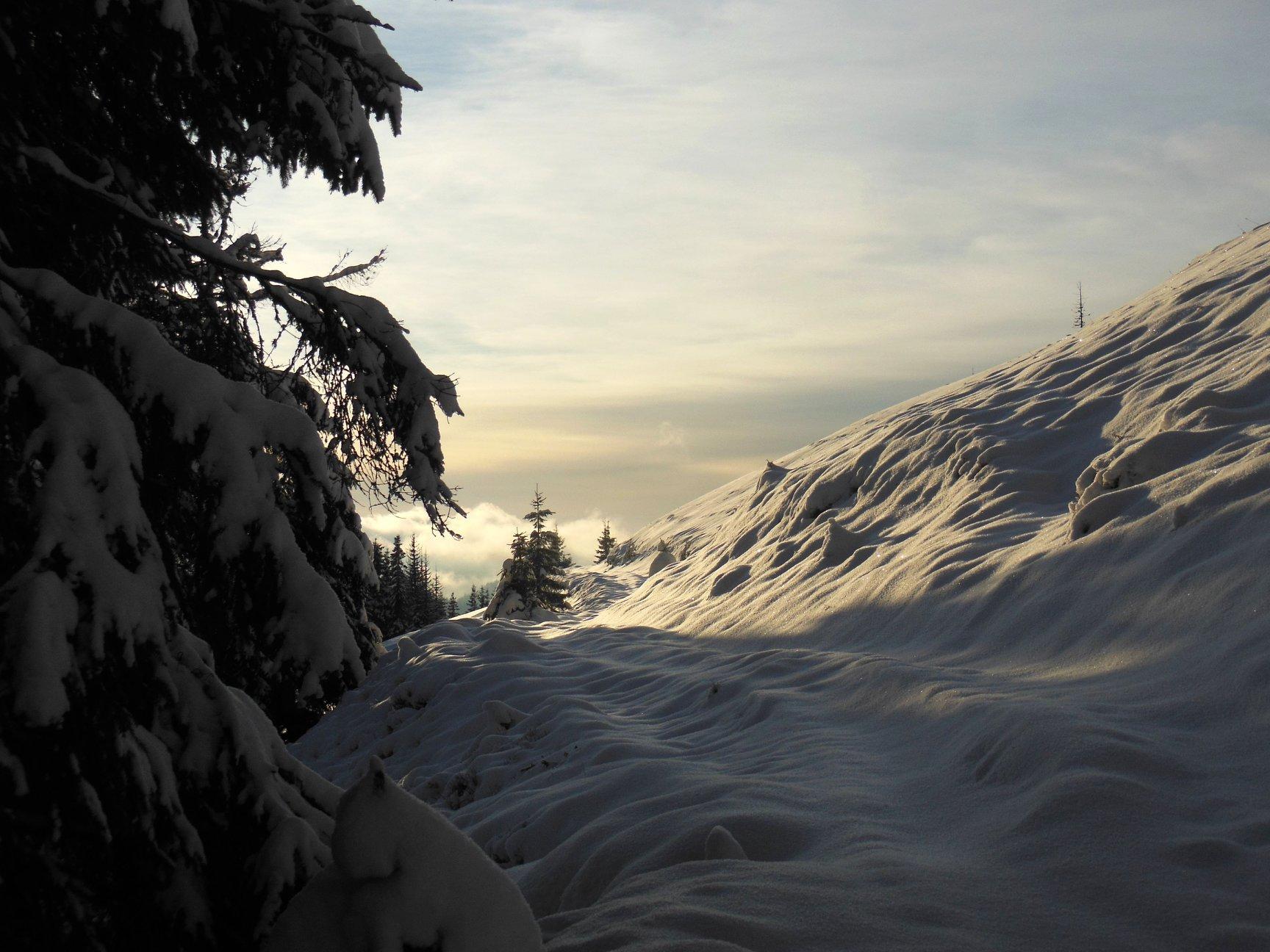 Франківець пішов у похід на милицях заради неймовірних фото зимових Карпат 8