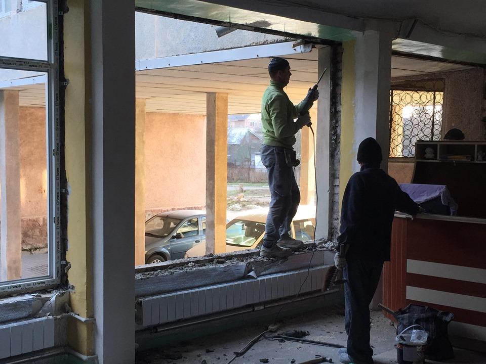 В одній з франківських гімназій замінили вікна й систему вентиляції за програмою НЕФКО 6