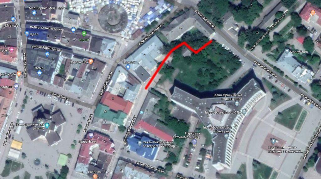 У центрі Франківська ще одну вуличку хочуть зробити пішохідною 4