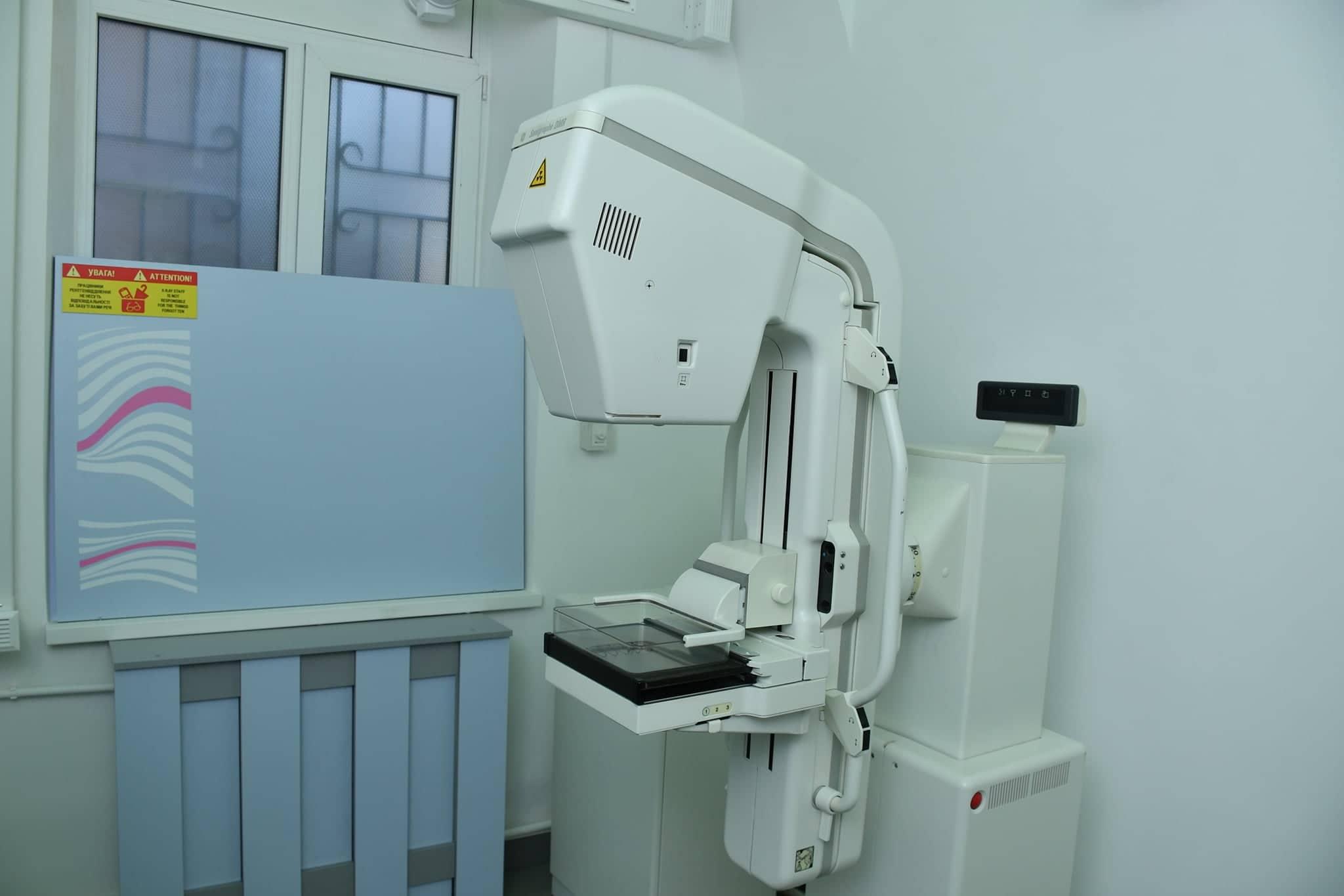 У франківській ЦМКЛ відкрили мамограф 6