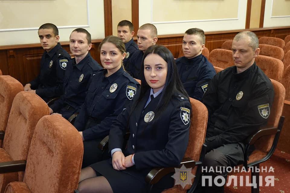 Поліцейським Івано-Франківщини присвоїли спеціальні звання 4
