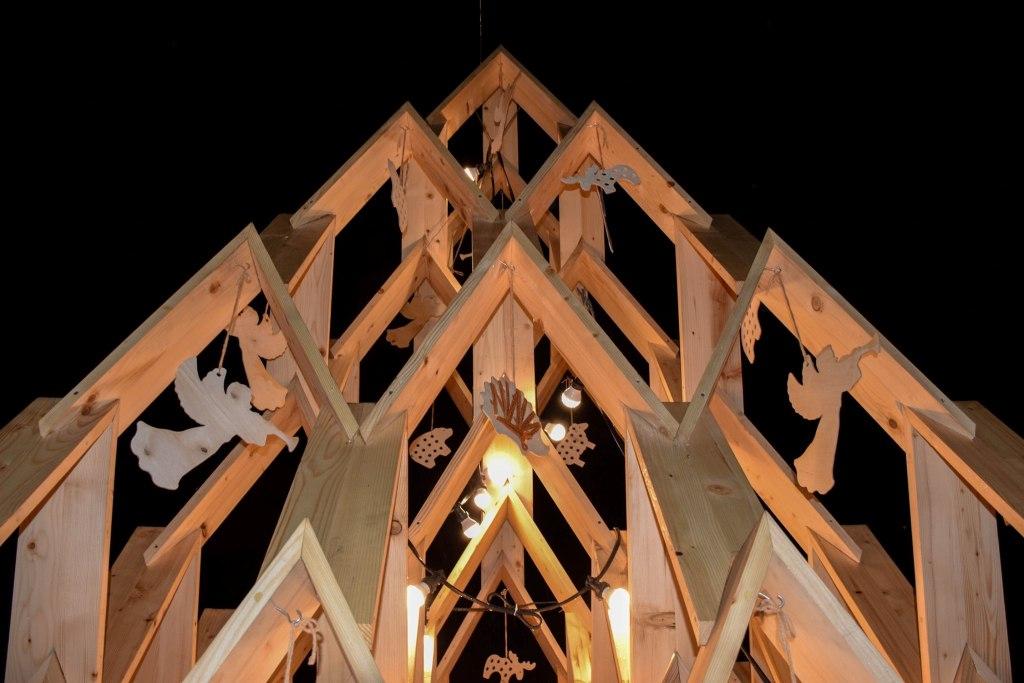 У Палаці Потоцьких відкрили дерев'яну артялинку 2