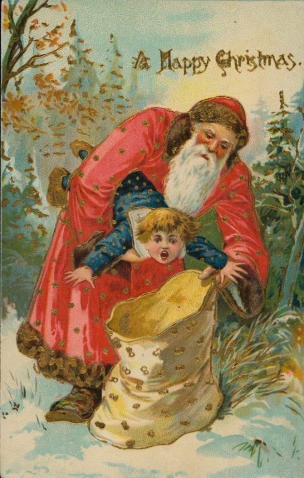 Страшне Різдво: франківський художник нагадав про поштівки 4