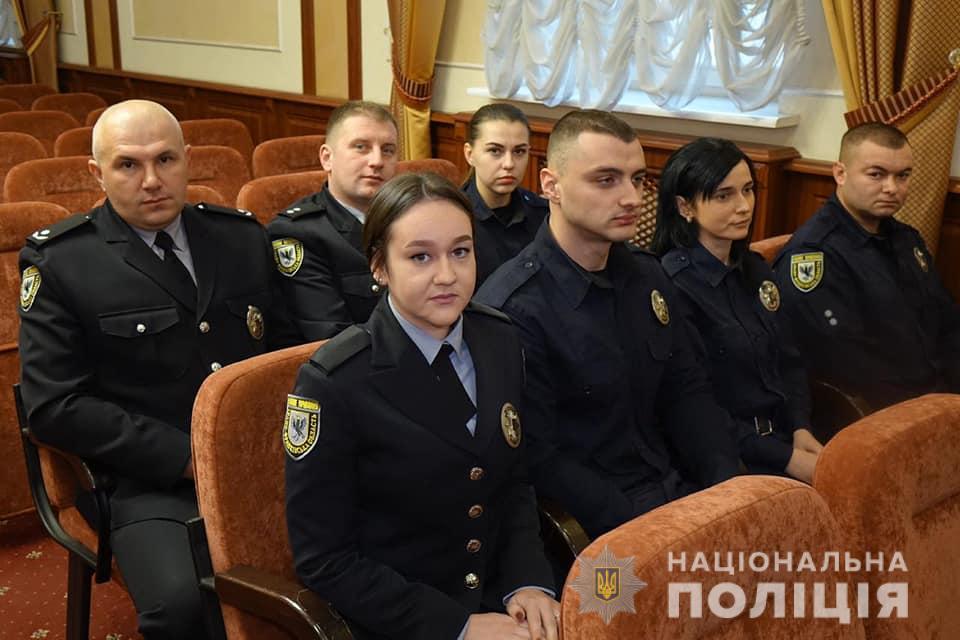 Поліцейським Івано-Франківщини присвоїли спеціальні звання 8