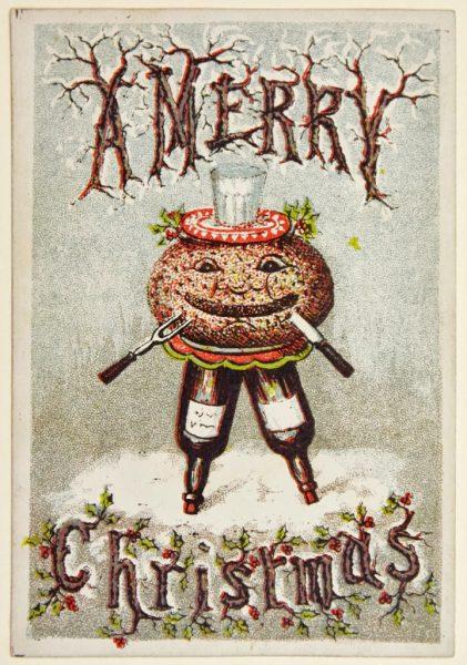 Страшне Різдво: франківський художник нагадав про поштівки 3