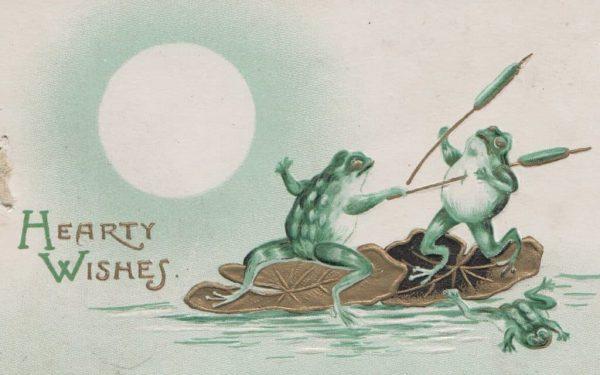 Страшне Різдво: франківський художник нагадав про поштівки 7