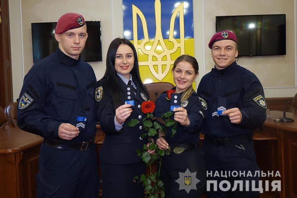 Поліцейським Івано-Франківщини присвоїли спеціальні звання 10