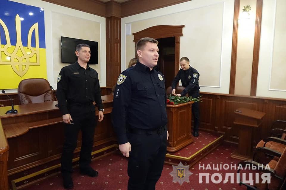 Поліцейським Івано-Франківщини присвоїли спеціальні звання 14