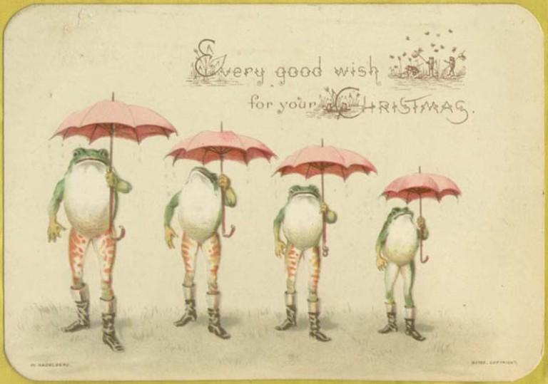 Страшне Різдво: франківський художник нагадав про поштівки 10