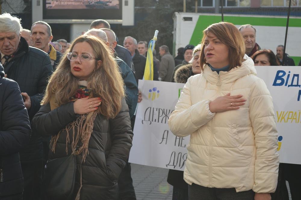 Франківці вийшли на всеукраїнське віче проти капітуляції 6
