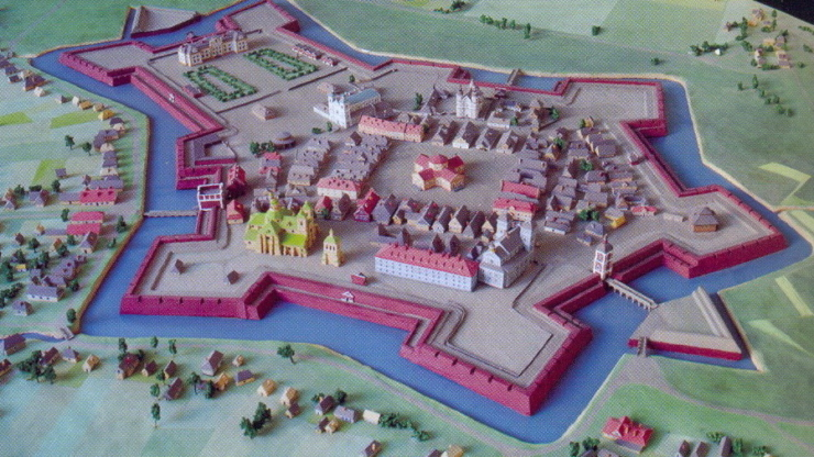 макет міста Станіславів