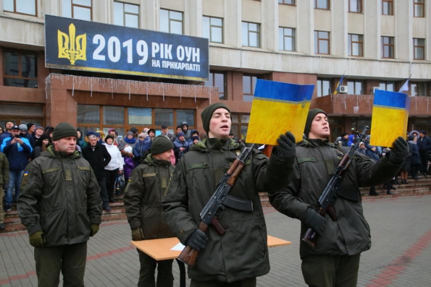 В Івано-Франківську  понад 70 нацгвардійців склали присягу 2
