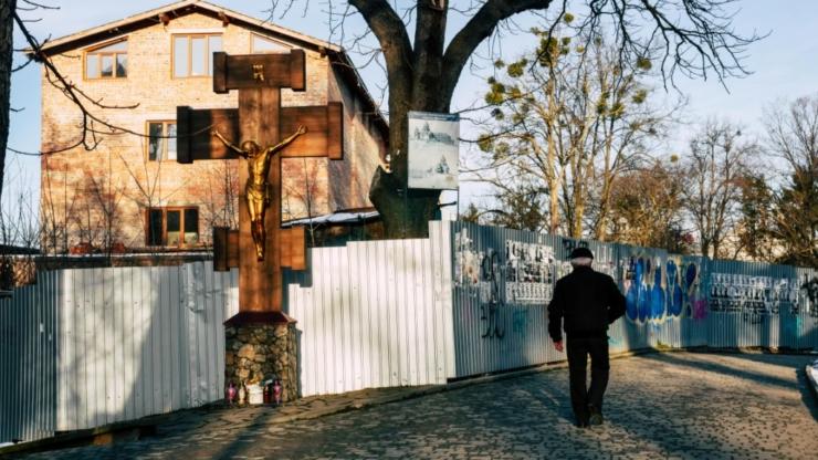 УГКЦ будує на історичних Валах в Івано-Франківську