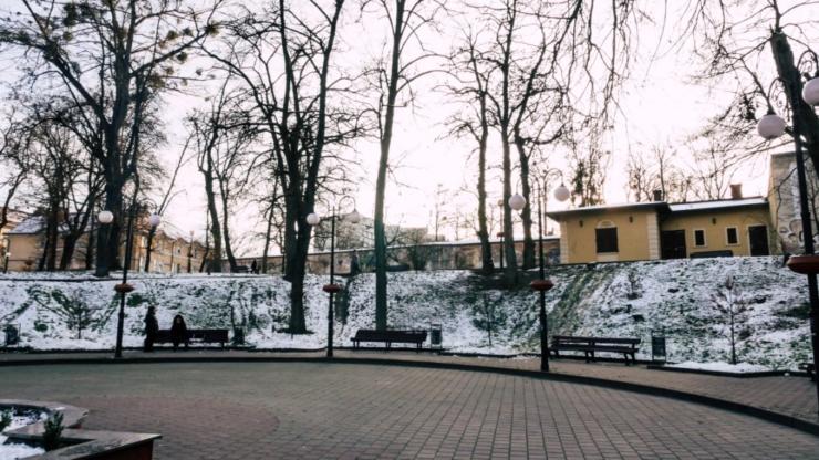 Вали в Івано-Франківську