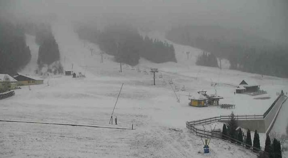 На Драгобраті й на Чорногорі вже намело снігу 2