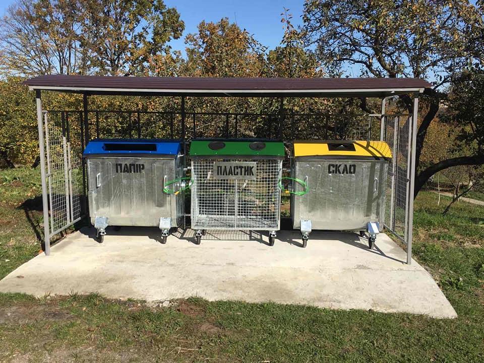 В ОТГ на Коломийщині встановили 11 майданчиків для роздільного збору сміття 8