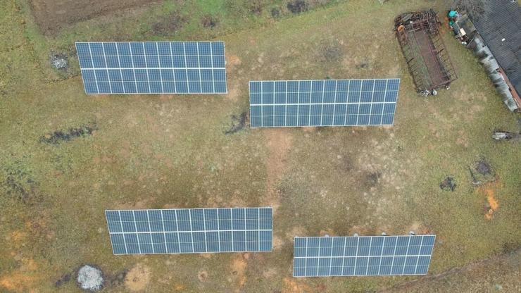 Сонячну електростанцію для дому потужністю 30 кВт встановлено в Шешорах 2