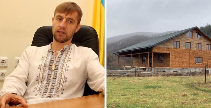 """На Косівщині екснардеп Гаврилюк викінчує триповерховий дім – """"козак"""" вдало одружився 4"""