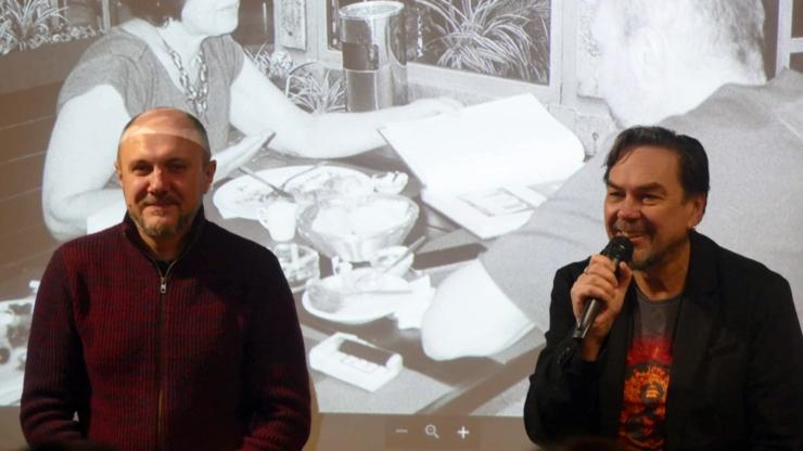 Олег Криштопа і Юрій Андрухович