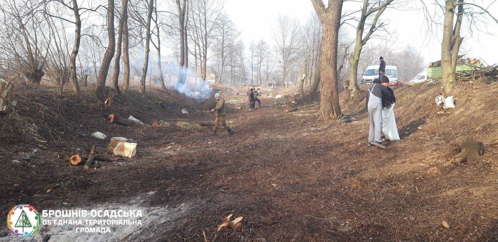 Мешканці прикарпатського села облагородили відпочинкову зону та назбирали дров для малозабезпечених сімей 2