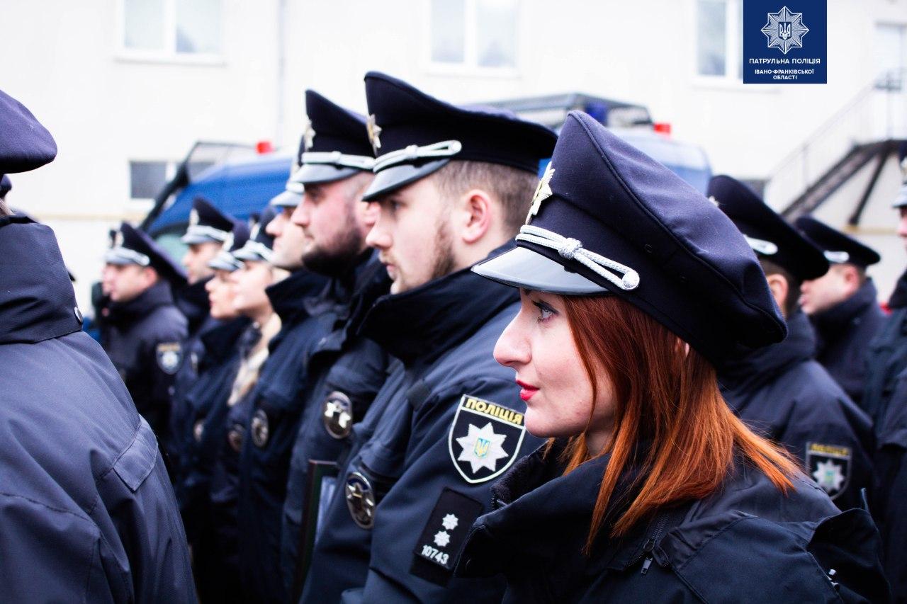 Франківські патрульні відзначають четверту річницю 4