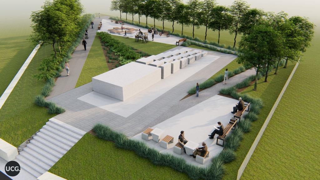 Урбаністи запропонували, як облаштувати сквер Небесної Сотні у Косові 6